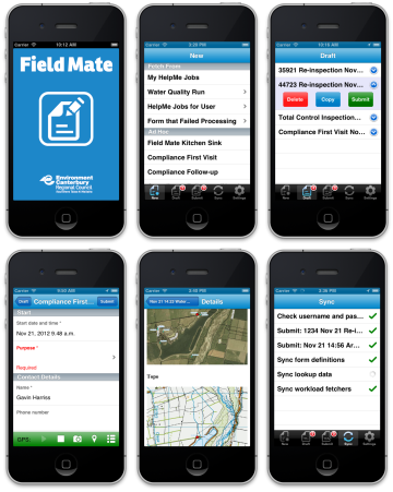 Field Mate app for iOS